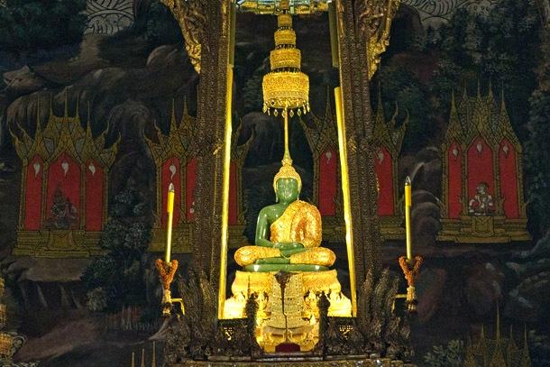 Bangkok - Buda de Esmeralda no Grand Palace