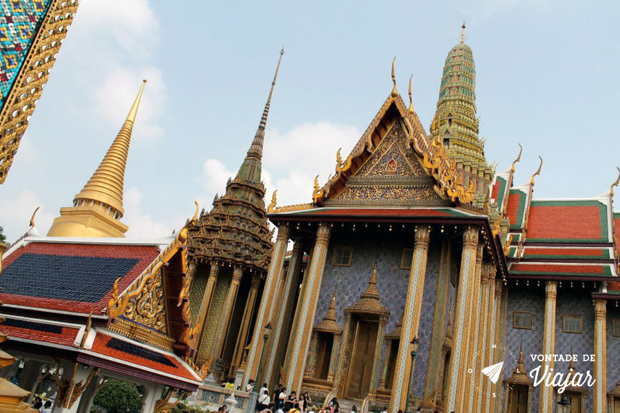 Bangkok - Grand Palace em Bangkok
