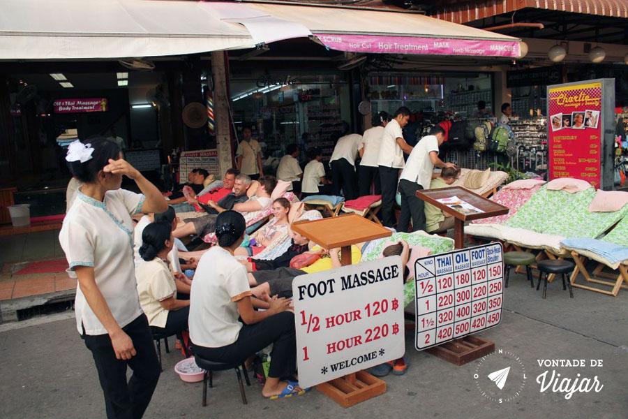 Bangkok - Massagem tailandesa