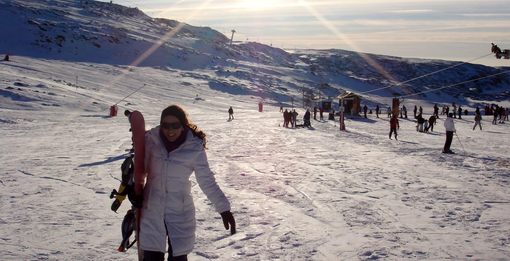 Estação de ski na Serra da Estrela: neve em Portugal - Vontade de Viajar