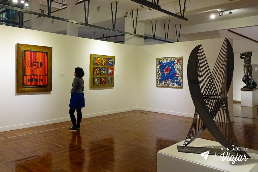 Montevideu - Museu de Artes Visuais no Parque Rodo