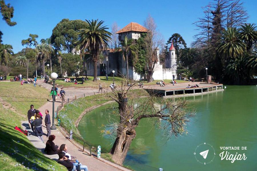 Montevideu - Parque Rodo em dia de sol