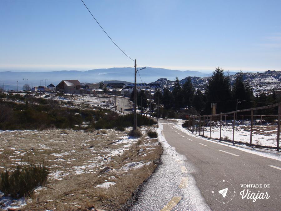 Serra da Estrela Portugal - Estrada