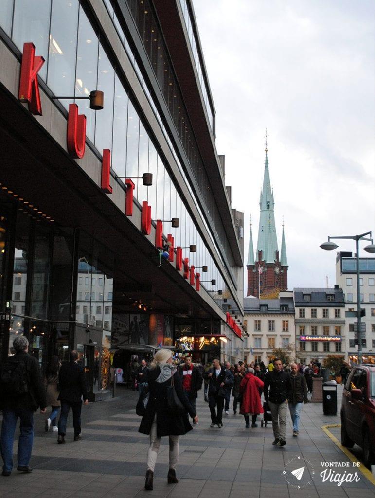 Estocolmo - Kulturhuset - foto de Mariana Magalhaes Costa para o blog Vontade de Viajar
