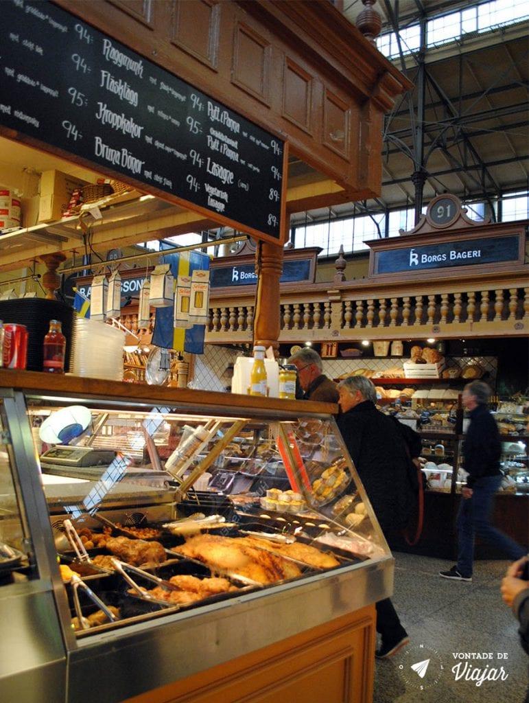 Estocolmo - Mercado Ostermalm Saluhall - foto de Mariana Magalhaes Costa para o blog Vontade de Viajar