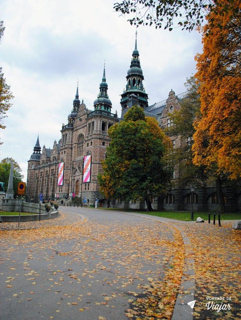 Estocolmo - Museu Nordico em Djurgarden- foto de Mariana Magalhaes Costa para o blog Vontade de Viajar