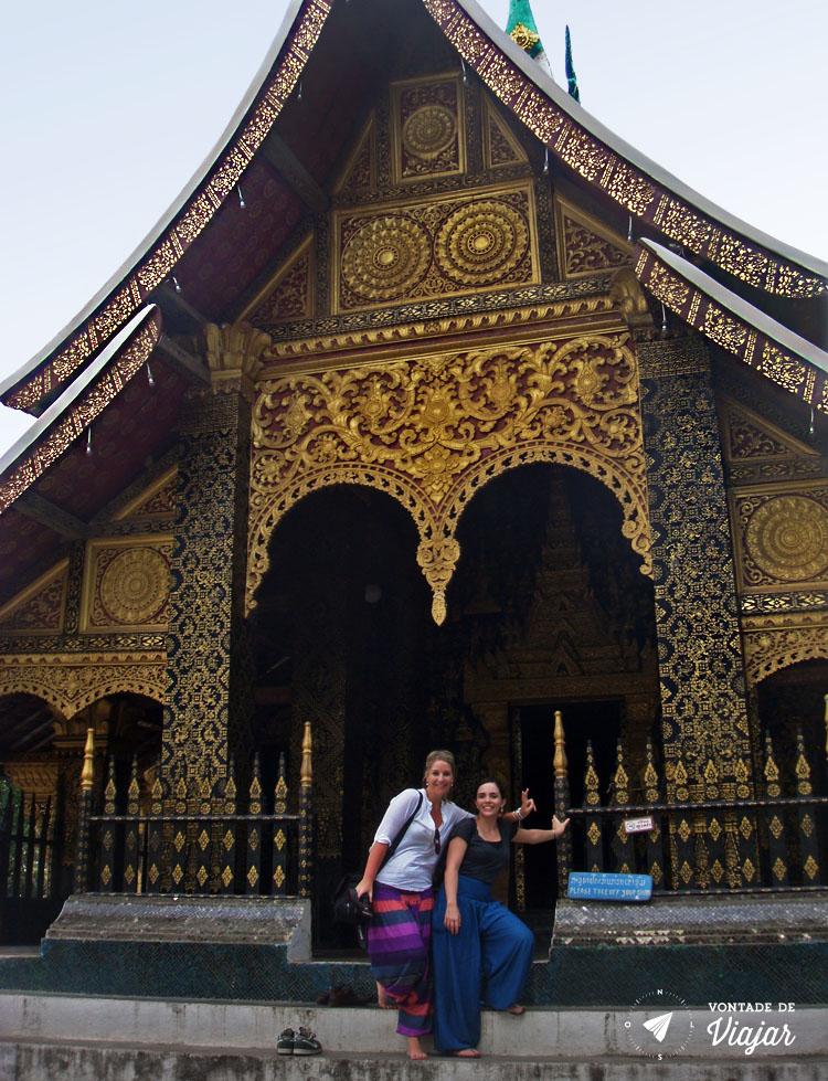 Luang Prabang - Nanda e Phila templo no Laos
