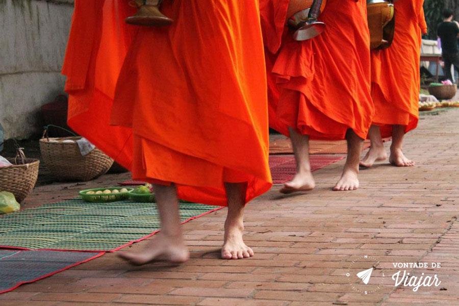 Luang Prabang - Ritual das Almas monges