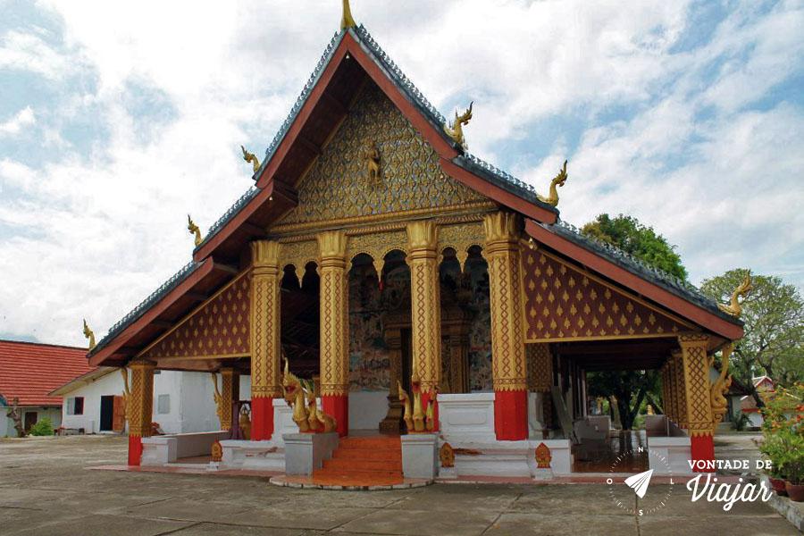 Luang Prabang - Templo Wat Xieng Thong