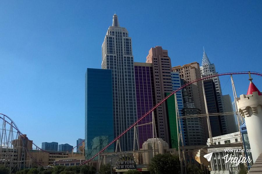 California - Montanha russa em Las Vegas