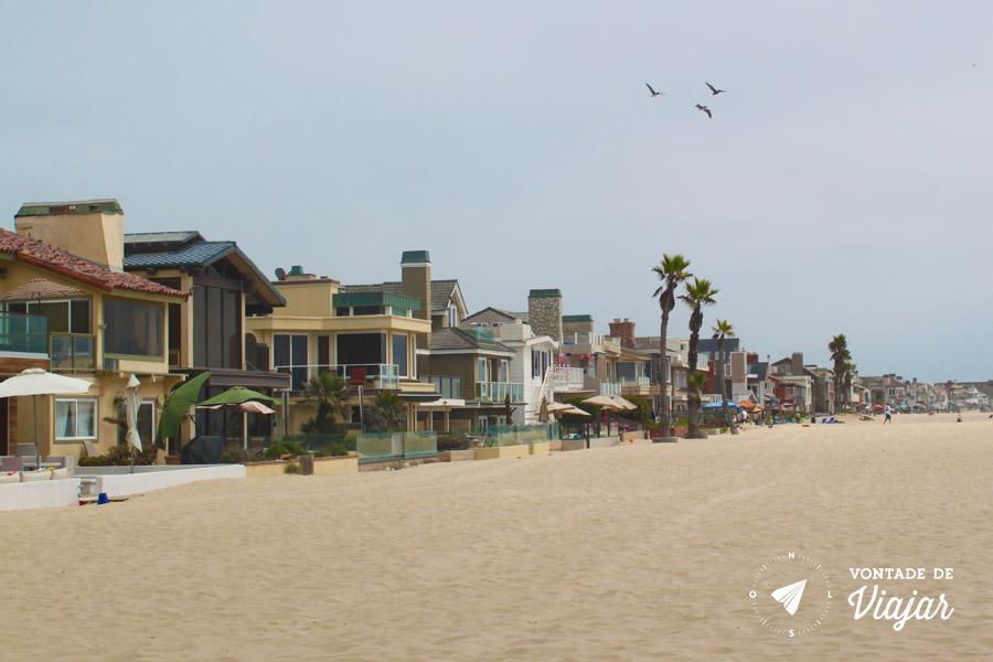 California - Newport Beach em Orange County no caminho de LA para San Diego
