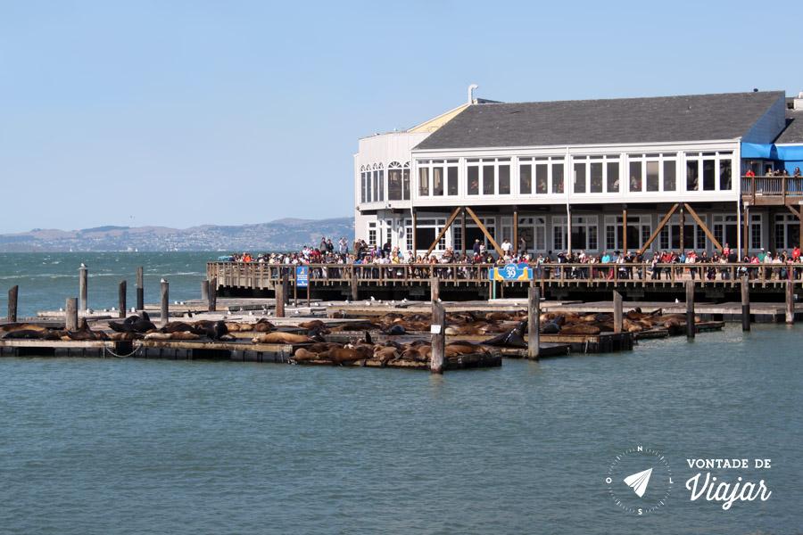 California - Pier em Fishermans Wharf San Francisco