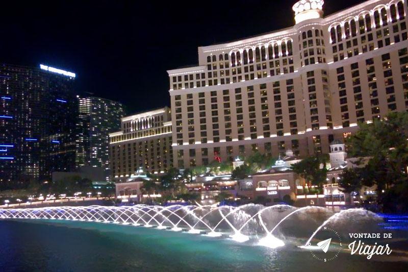 California - Show das aguas do Hotel Bellagio em Las Vegas