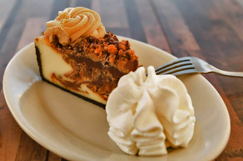 Las Vegas - Cheesecake Factory peanut butter