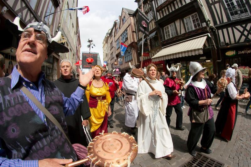 Festejos de Joana D'Arc em maio de 2011