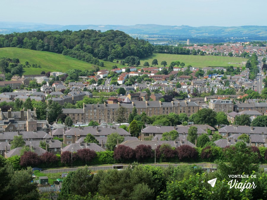 Dundee - Vista de Dundee na Escocia - foto do blog Vontade de Viajar