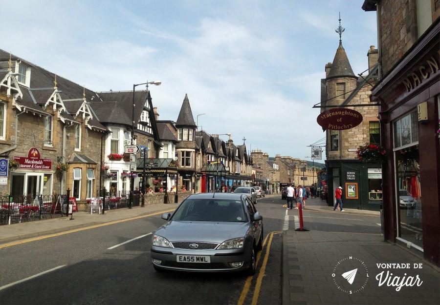 Escocia - Pitlochry - foto do blog Vontade de Viajar