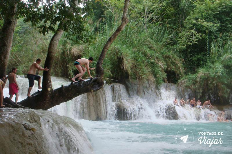 Luang Prabang - Cachoeira Kuang Si Laos