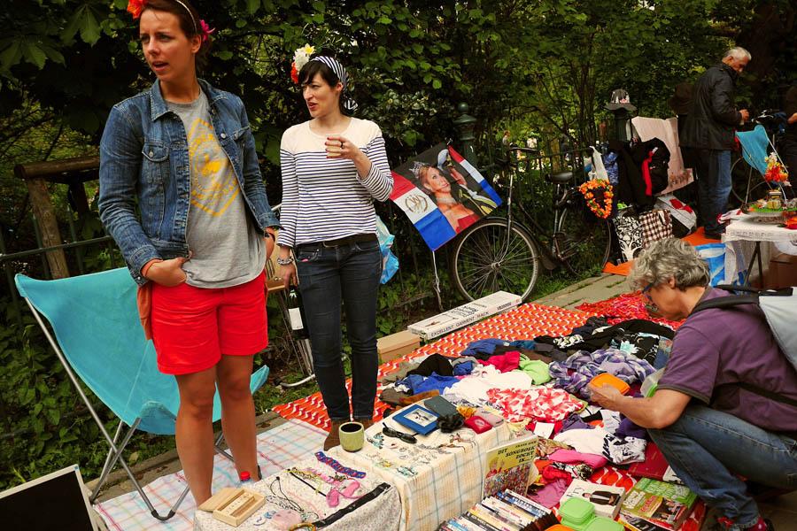 Dia do Rei Amsterdam - Mercado de rua - foto de Franklin Heijnen