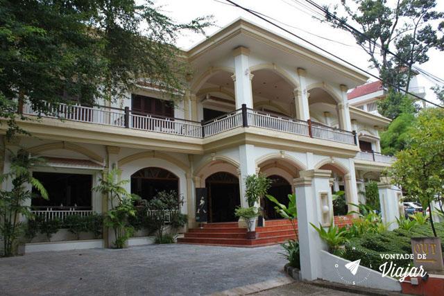 Hoteis no Sudeste Asiatico - Hotel em Siem Reap Camboja