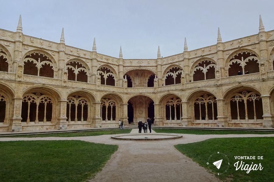 Lisboa - Mosteiro dos Jeronimos em Belem