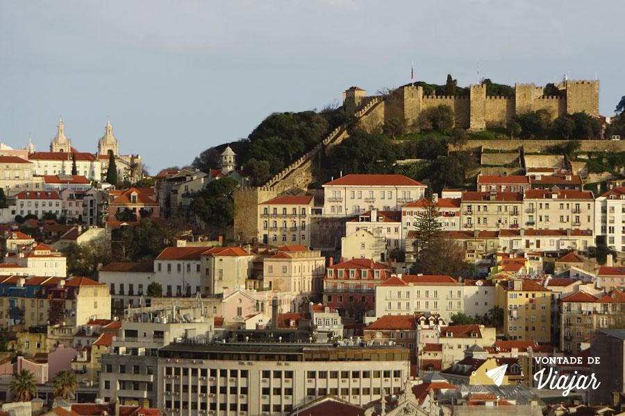 O que fazer em Lisboa - Castelo de Sao Jorge