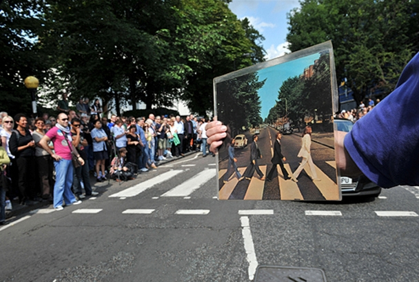 Flashmob Abbey Road