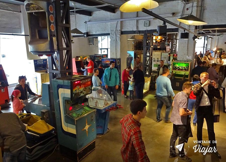 Moscou - Museu do Arcade - Games russos