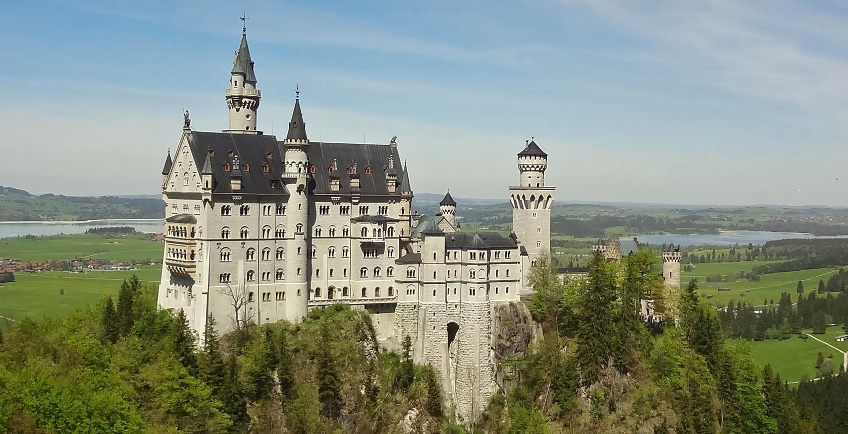 Munique - Castelo de Neuschwanstein Alemanha - dicas de viagem blog Vontade de Viajar