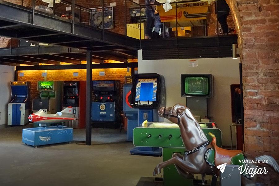 Museu do Arcade St Petersburgo - Jogos russos