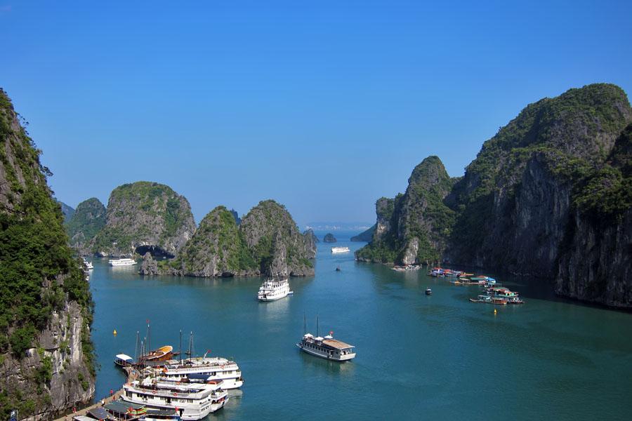 Sudeste Asiatico - Halong Bay Vietnam - Foto Cristina Bejarano