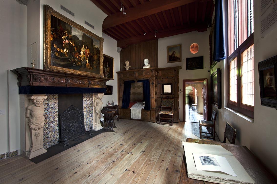 Amsterdam - Museu Casa de Rembrandt - quarto