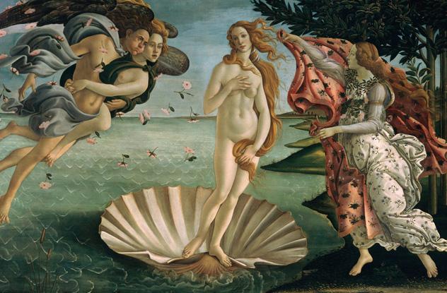 Cacadores de Obras Primas - Nascimento de Venus de Botticelli uma das obras recuperadas
