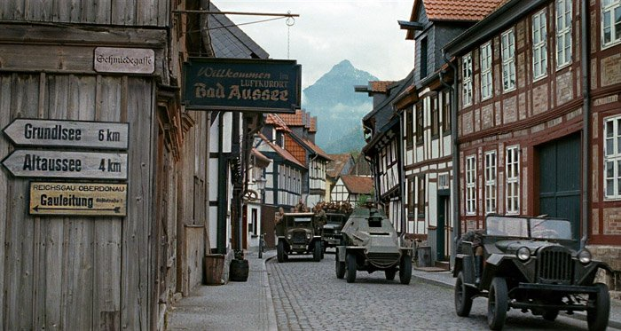 Monuments Men - Halberstadt na Alemanha - 20th Century Fox