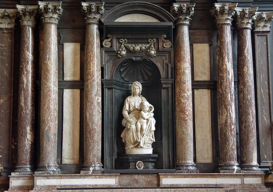 Monuments Men - Madonna de Bruges de Michelangelo na Belgica