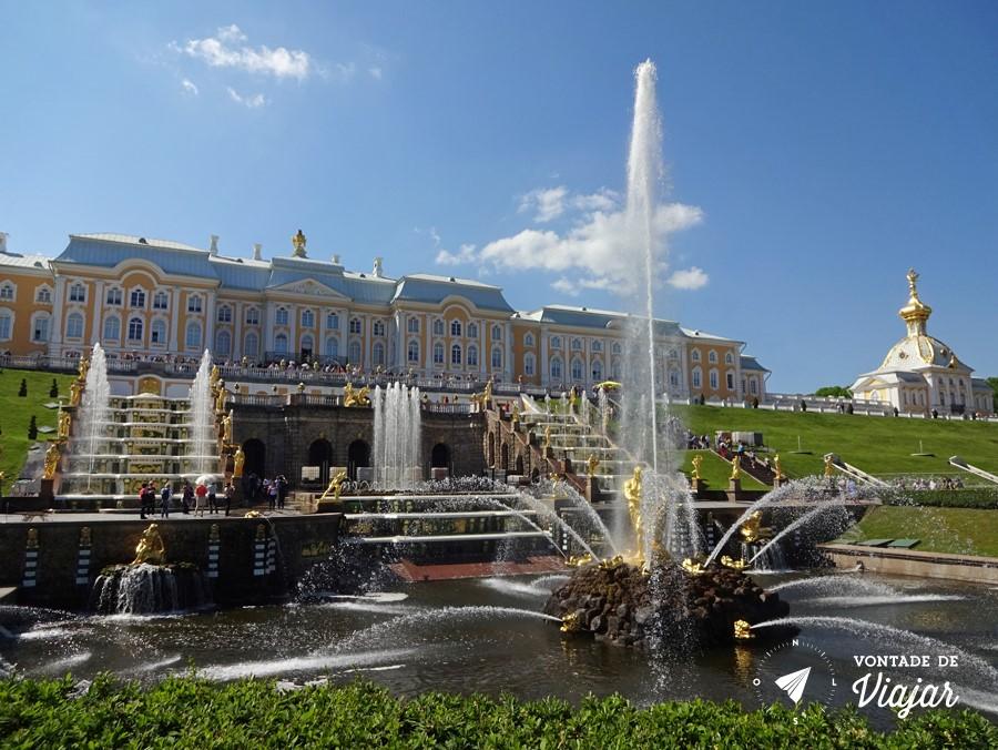 Cascata de Peterhof
