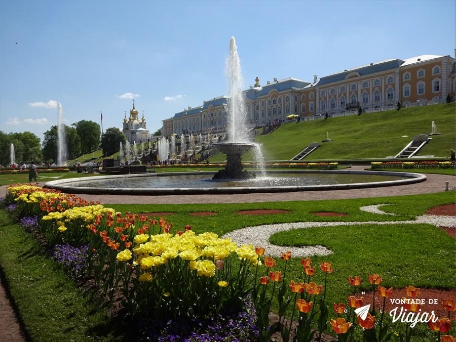 Peterhof - Jardim do Grande Palacio