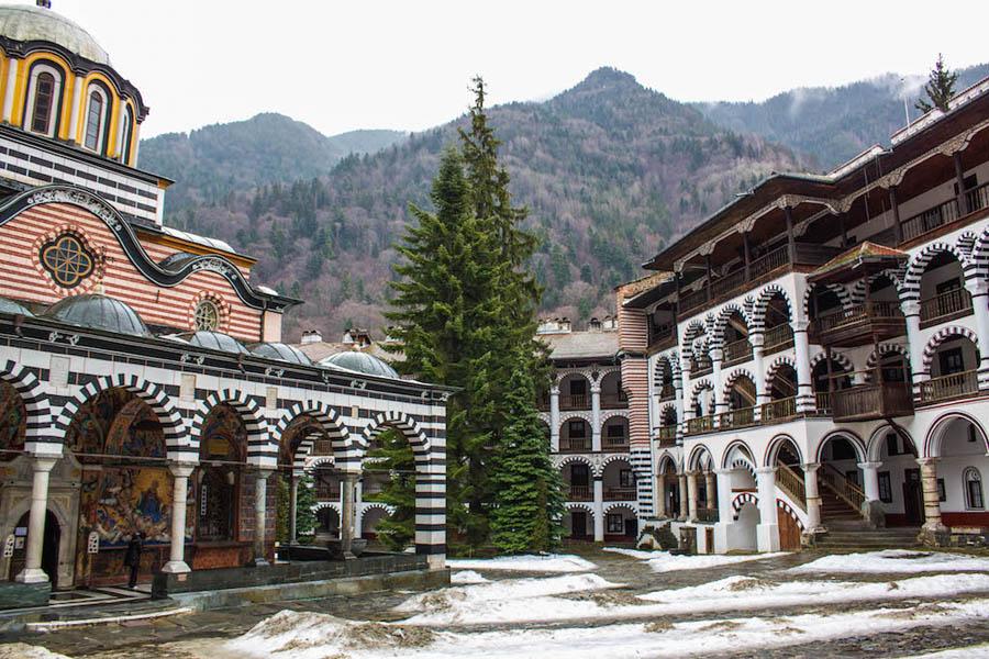 Viagem a Bulgaria - Monasterio de Rila - Foto Cheryl Howard