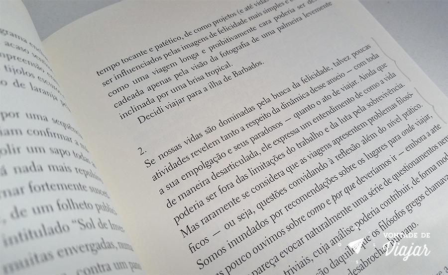 A arte de viajar - livro de Alain de Botton - blog Vontade de Viajar
