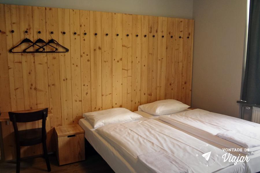 Onde ficar em Berlim - Quarto duplo suite no albergue