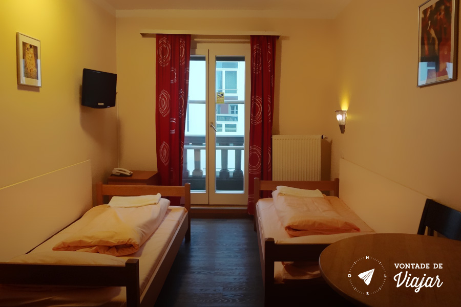 Onde ficar em Munique - Euro Youth Hostel quarto duplo
