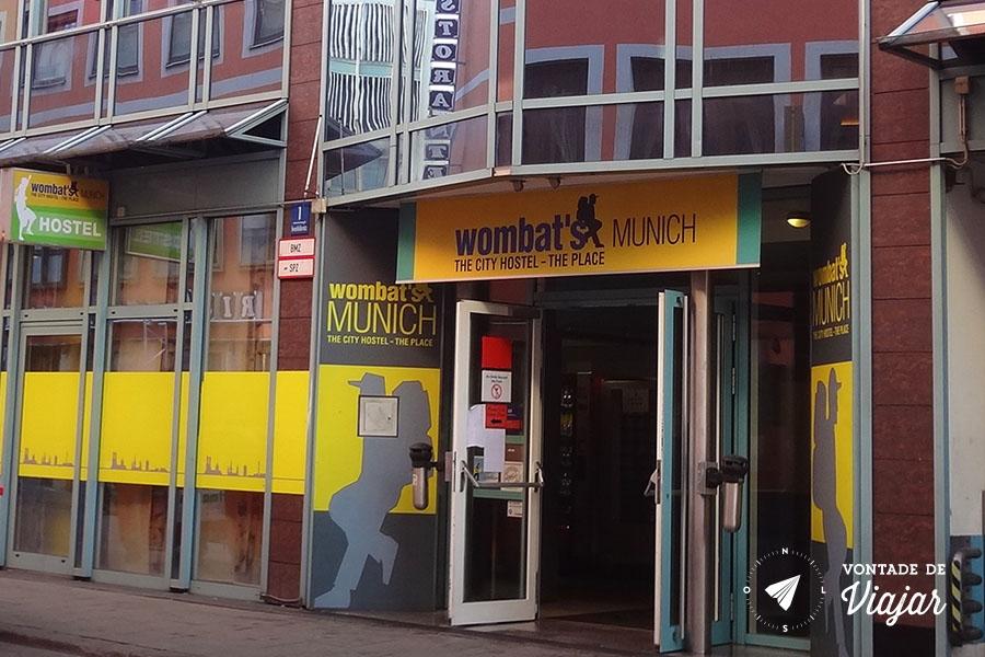 Onde ficar em Munique - Wombats Hostel em Munique