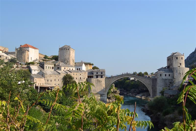 Bosnia - Ponte Velha em Mostar - foto de Michael Anranter
