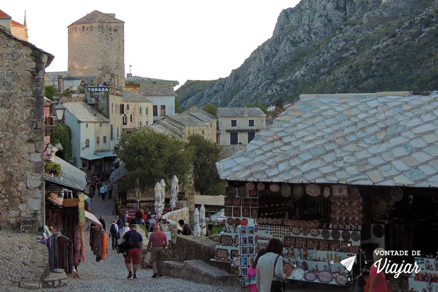 Bosnia - Ruas do centro de Mostar - foto de Fernanda Castro