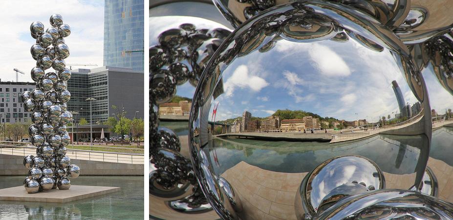 Guggenheim Bilbao - Obra de Anish Kapoor - Fotos Mikel Agirregabiria