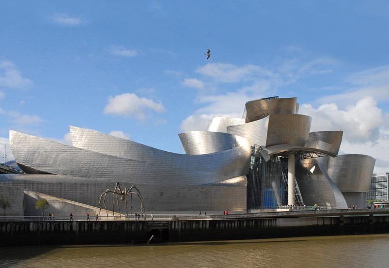 Guggenheim Bilbao - foto de Jean-Pierre Dalbera