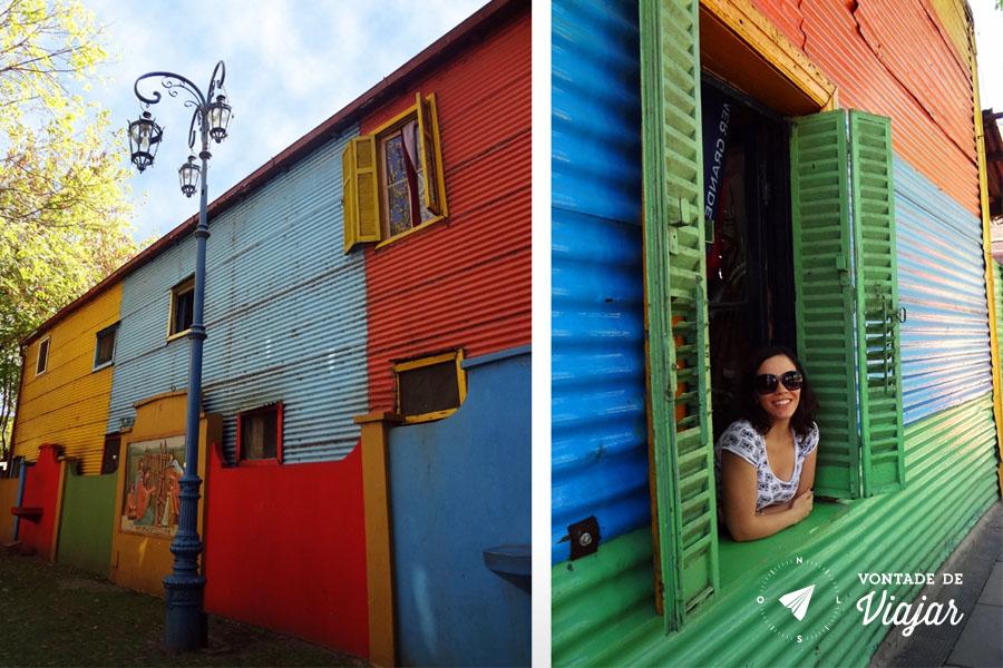 La Boca - Casas coloridas feitas de casco de barco