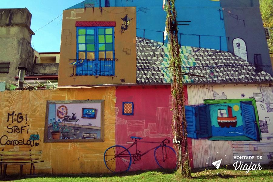 La Boca - Grafites em Buenos Aires