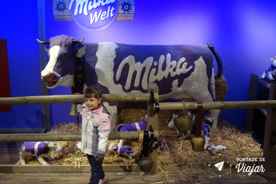Viktualienmarkt - Milka Welt em Munique
