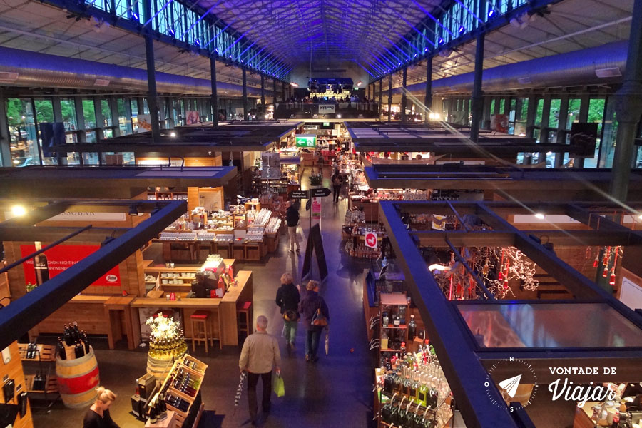Viktualienmarkt - Schrannenhalle gastronomia em Munique